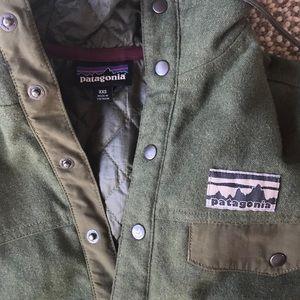 Patagonia Wool / Quilted Hoodie